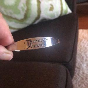"Jewelry - ""Forever Friends"" Cuff Bracelet"